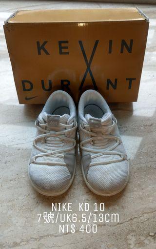 🚚 Nike KD 10童鞋