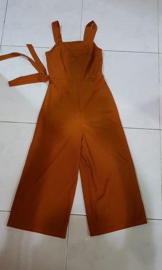 Brown Jumpsuit/Romper