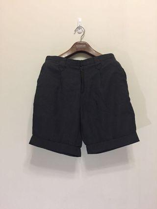 🚚  lowrys farm深灰色西裝短褲 五分褲