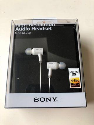 🚚 SONY MDR-NC750 高解析音訊耳機