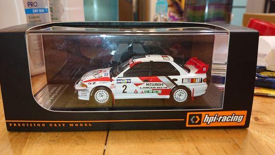 1/43 HPI Lancer Evolution III 1995 Safari (#2)