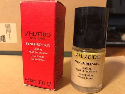 Shiseido foundation 廣生堂 粉底液