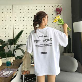 🚚 Atlantis Smith World Boxy Tee