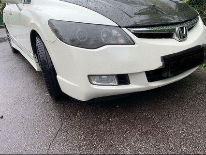 Original FD Honda Civic front bumper