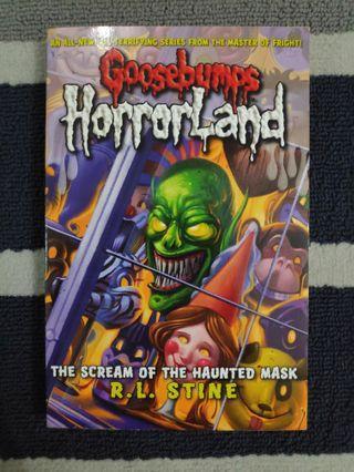 Goosebumps: The Scream of The Haunted Mask (English)
