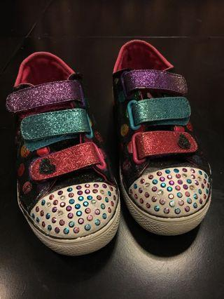 Skechers Twinkle with led blinking Kids Shoes
