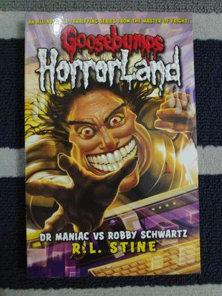 Goosebumps: Dr Maniac VS Robby Schwartz (English)
