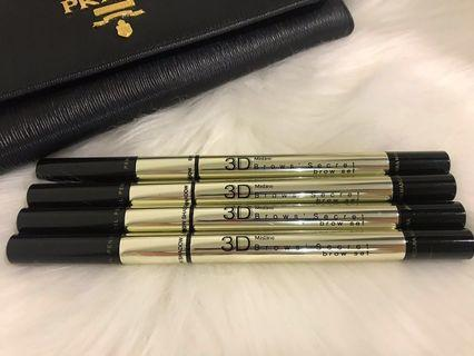 Mistine 3 in 1 Eyebrown (Color: Grey) (Each RM25)