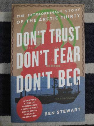 Don't Trust Don't Fear Don't Beg (English) (True Story)