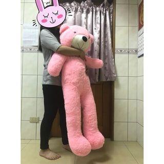 出清-超大粉紅熊熊(約100cm)