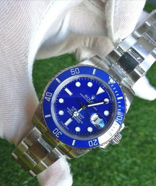 Swiss Rolex Submariner Smurf