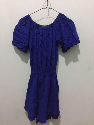 Blue Jumpsuit Sabrina
