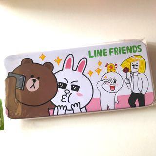 日本直送Line friends筆盒