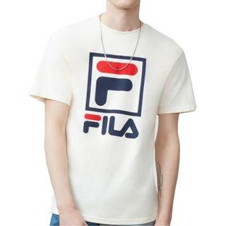 Fila Stacked T-Shirt Gardenia