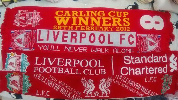 [歐聯決賽限時優惠] 利物浦 Liverpool 頸巾