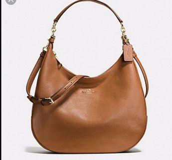🚚 Coach harley hobo pebble leather sling bag / hand bag