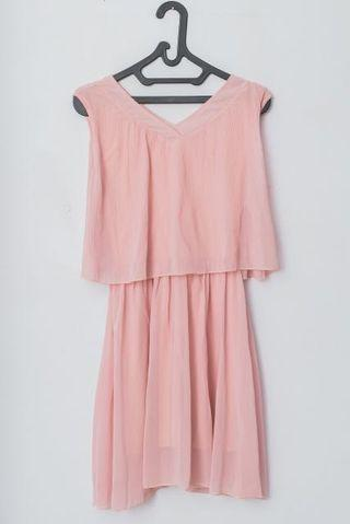 Pink Mididress