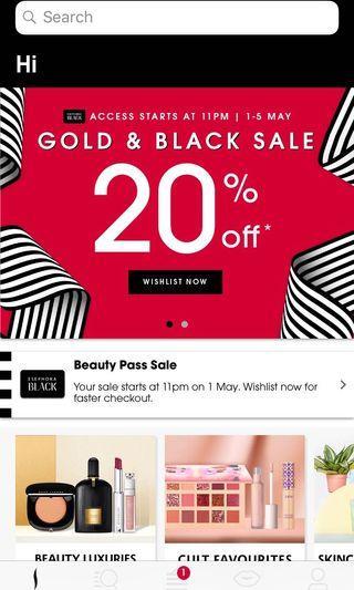 Sephora Sale