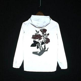 harajuku streetwear reflective jacket