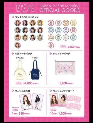 Izone Japan Fanmeeting