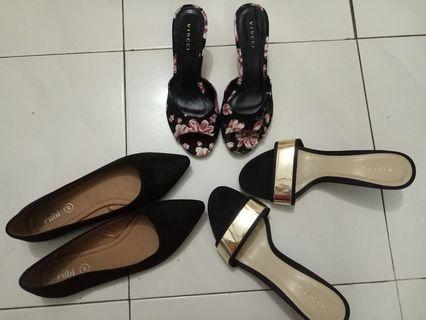 Heel & Flat Shoe