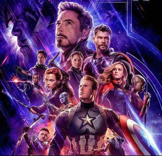 🚚 Avengers endgame wall sticker (with installation) + customised design and size . Available in Posters as well .