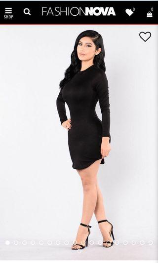 Fashion nova - Beverley hills tunic dress #SWAPCA