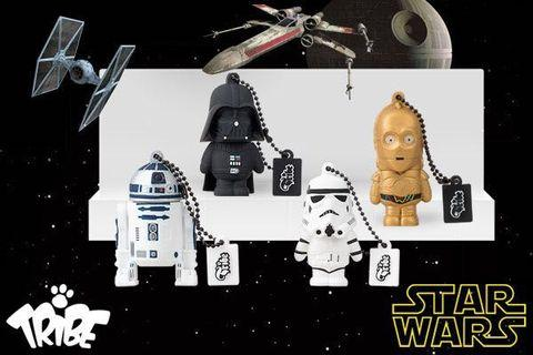 全新 正版 STAR WARS 星際大戰 16GB USB Flash Drive Stormtrooper Darth Vader