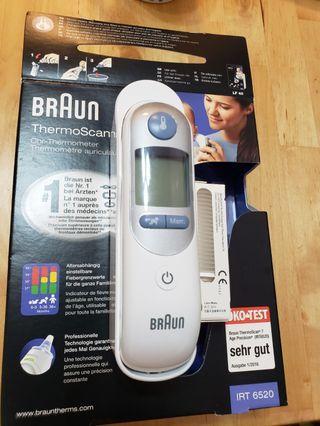 Braun Thermoscan 7 紅外線探熱器 IRT6520