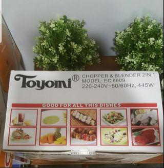 Toyomi chopper n blender