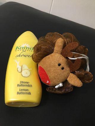 🚚 德國Kamill香氣沐浴膠250ml+造型沐浴球 #半價美妝拍賣會