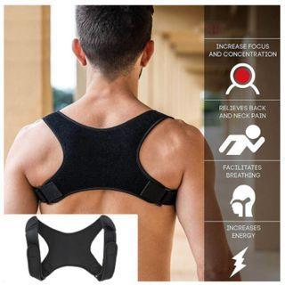 Posture Corrector(Back/Shoulder) and fracture support - Brace Belt Strap (AS SEEN ON INSTAGRAM)