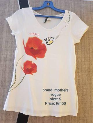 Mother vogue breast feeding top