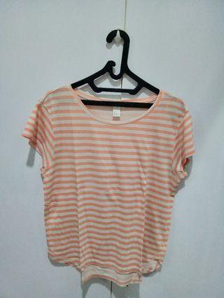 H&M Basic stripes T-shirt