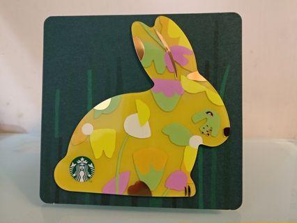 🌺 期間限定 🌺 $50 兔仔 🐰🐰 Starbucks Card