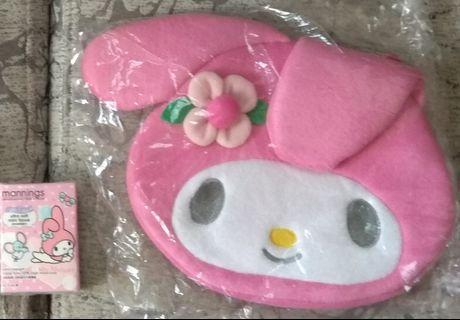 全新Sanrio Melody手挽袋
