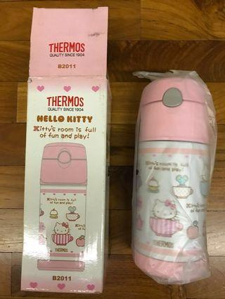 Thermos Hello Kitty Thermal Straw Bottle