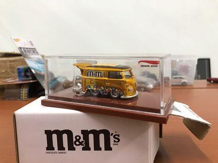 Hot Wheels M&M's Kool Kombi Gold