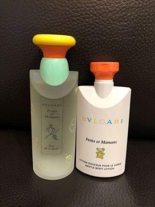 Bvlgari Petits et Mamans EDT & Body Lotion