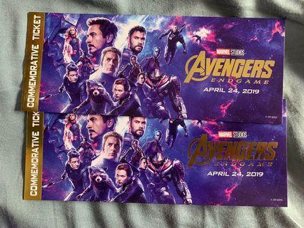 放售 Avengers 紀念票