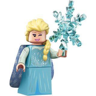 Elsa Frozen Lego Minifigure ( Disney Mini Figure series 2 )