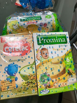 Paket makanan bayi promina dan cerelac