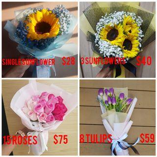 Mother's Day Bouquets Promotion