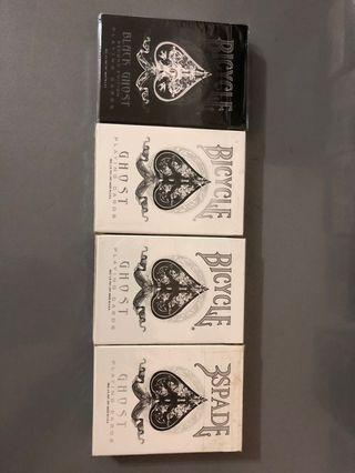 Ellusionist Bicycle Ghost Deck Collection
