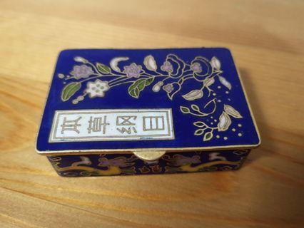 本草鋼目飾物盒