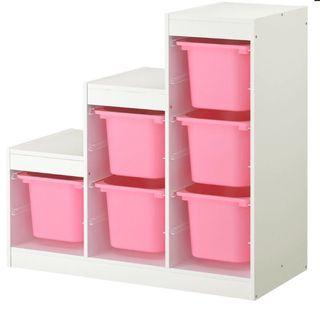 Ikea TROFAST 收納組合含櫃子
