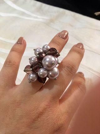 Handmade Pearl Ring