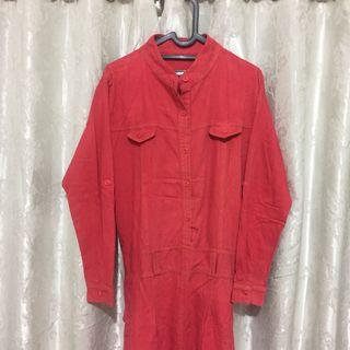 Dress Levis Merah