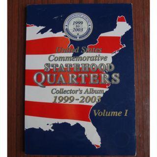 USA Quarters 1999-2003 美國錢幣一套