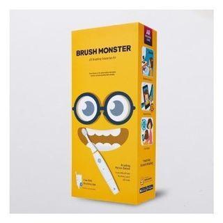 全新 正版 韓國 BRUSH MONSTER AR兒童智能聲波震動牙刷
